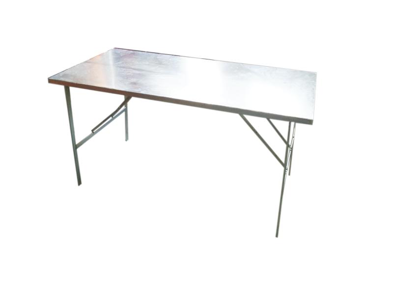 Table metal plateau alu ou inox l 1m00 probroc - Table alu pour marche ...